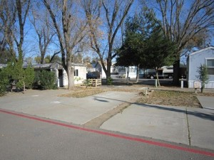 Davis Trailer Park space 10